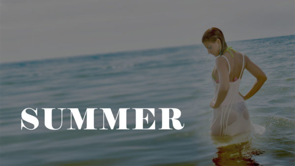 SUMMER (Official video) – Model on the beach – Luca Brogi Production