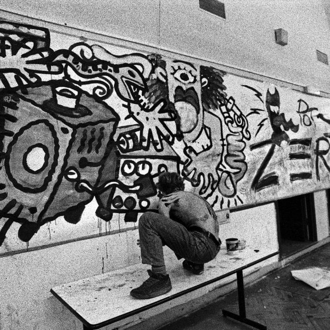 """1990 """"Pellerossa"""" Bologna art academy"""